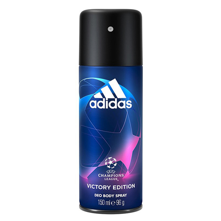 Xịt khử mùi Adidas Champions League Victory Edition, 150ml