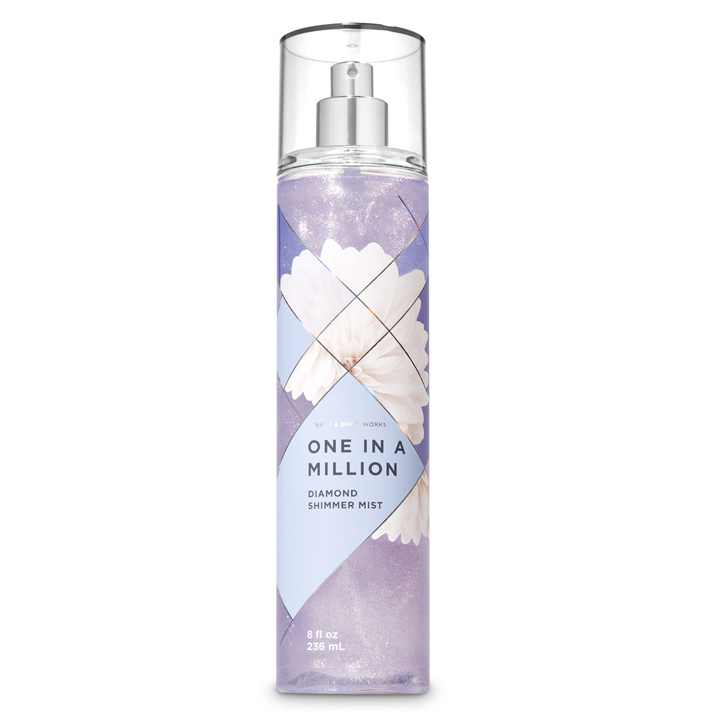 Xịt thơm toàn thân Bath & Body Works Diamond Shimmer - One In Million, 236ml