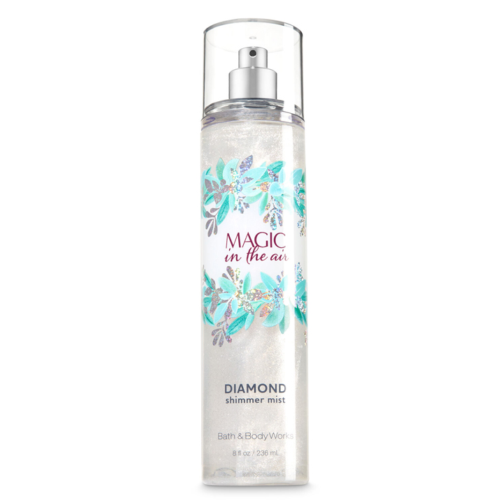 Xịt thơm toàn thân Bath & Body Works Diamond Shimmer - Magic In The Air, 236ml