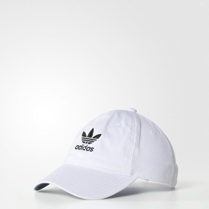 Adidas Men's Originals Relaxed Strap-Back, White