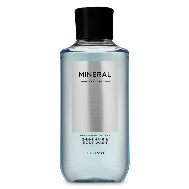 Gel tắm gội Bath & Body Works 2in1 Men's Collection - Mineral, 295ml