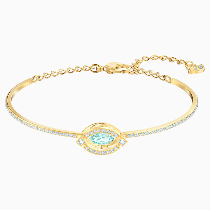 Vòng tay Swarovski Sparkling Dance Bangle, Gold