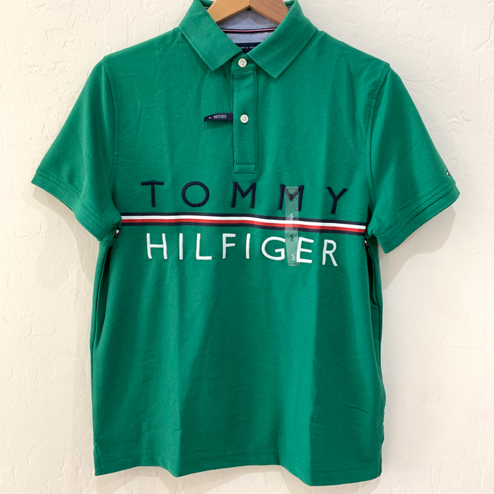Tommy Hilfiger Wicking Cotton Polo Shirt - Green, Size M