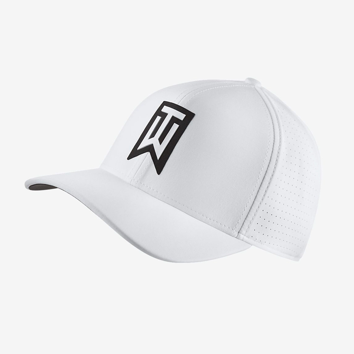 Nike Tiger Woods Classic 99 Golf Hat, White