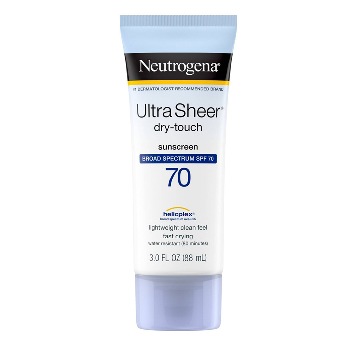 Chống nắng Neutrogena Ultra Sheer Dry Touch Sunscreen SPF 70, 88ml