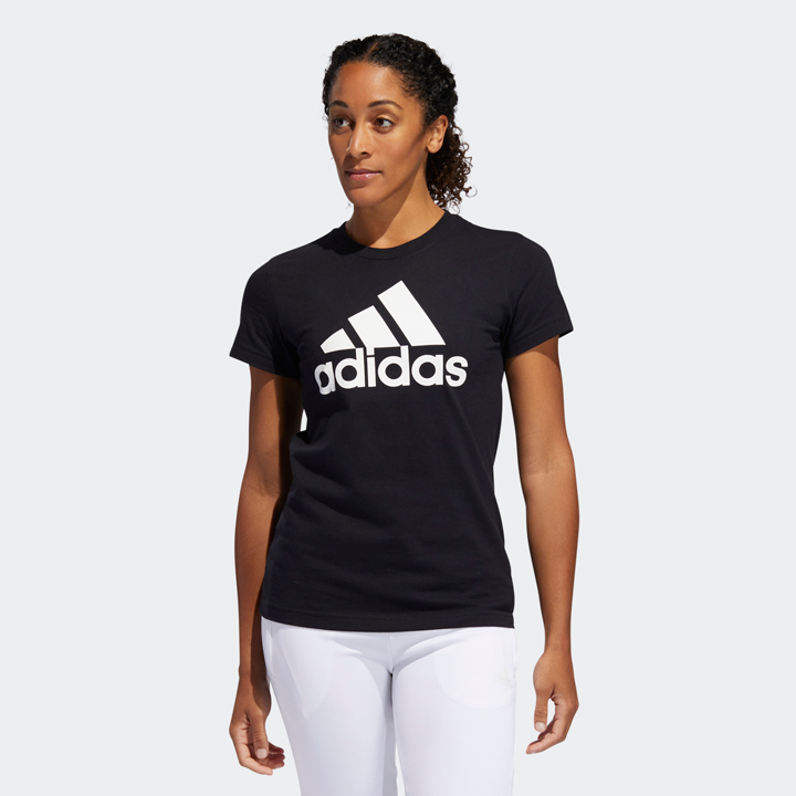 Adidas Badge Of Sport Graphic Tee - Black, size XS