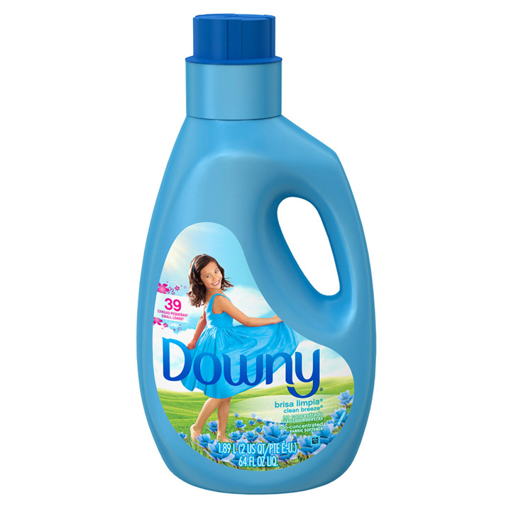Nước xả vải Downy Non-Concentrated  Liquid Fabric Softener - Clean Breeze, 1.89L