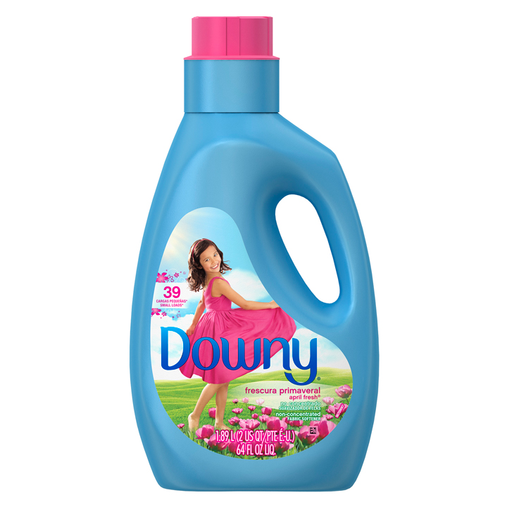 Nước xả vải Downy Non-Concentrated  Liquid Fabric Softener - April Fresh, 1.89L