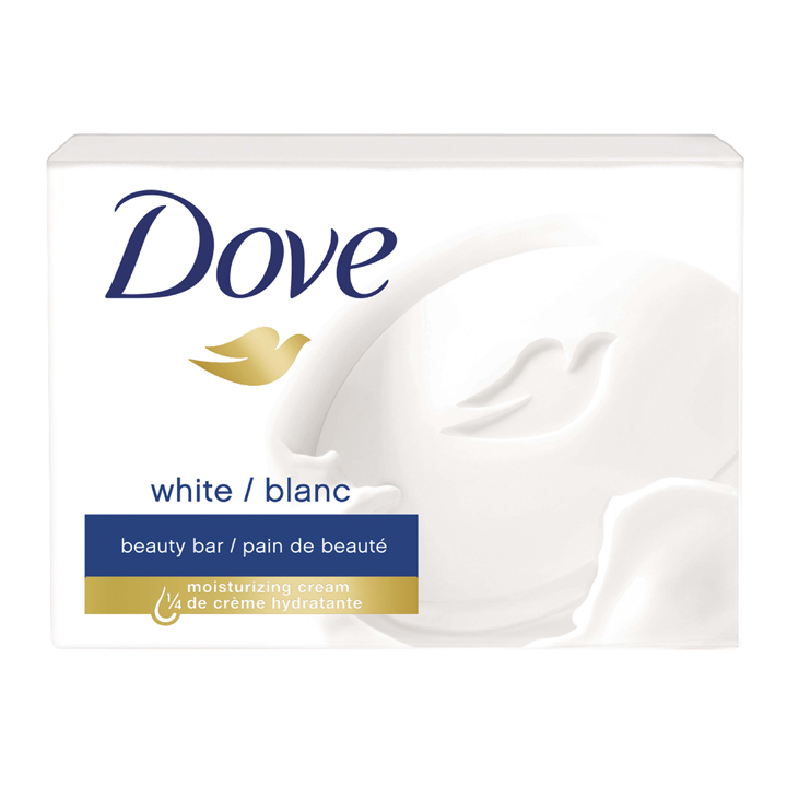 Xà phòng Dove White Moisturizing Beauty Bar Soap, 113g