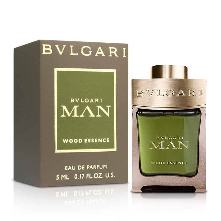 BVLGARI Man Wood Essence - Eau de Parfum, 5ml