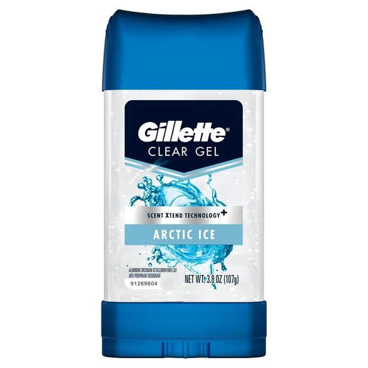Gel khử mùi Gillette Scent Xtend Technology - Arctic Ice, 107g