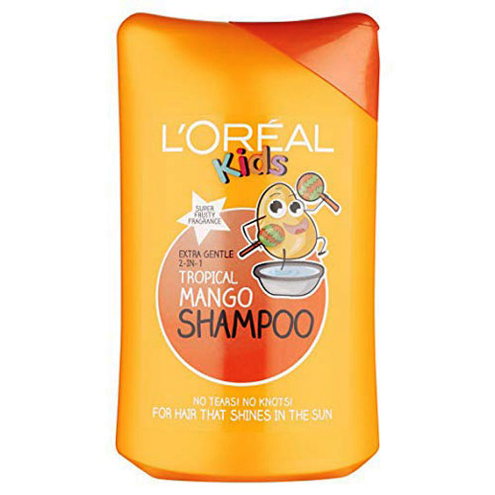 Dầu gội Loreal Kids - Tropical Mango, 250ml