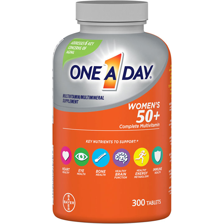 One A Day Women's 50+ Complete Multivitamin, 300 viên