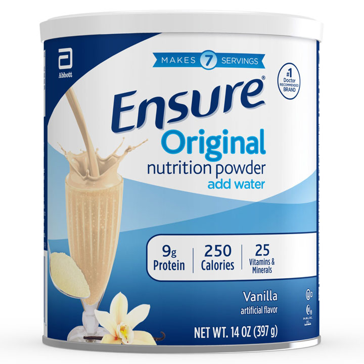 Sữa bột Ensure Original Nutrition Powder Add Water - Vanilla, 397g