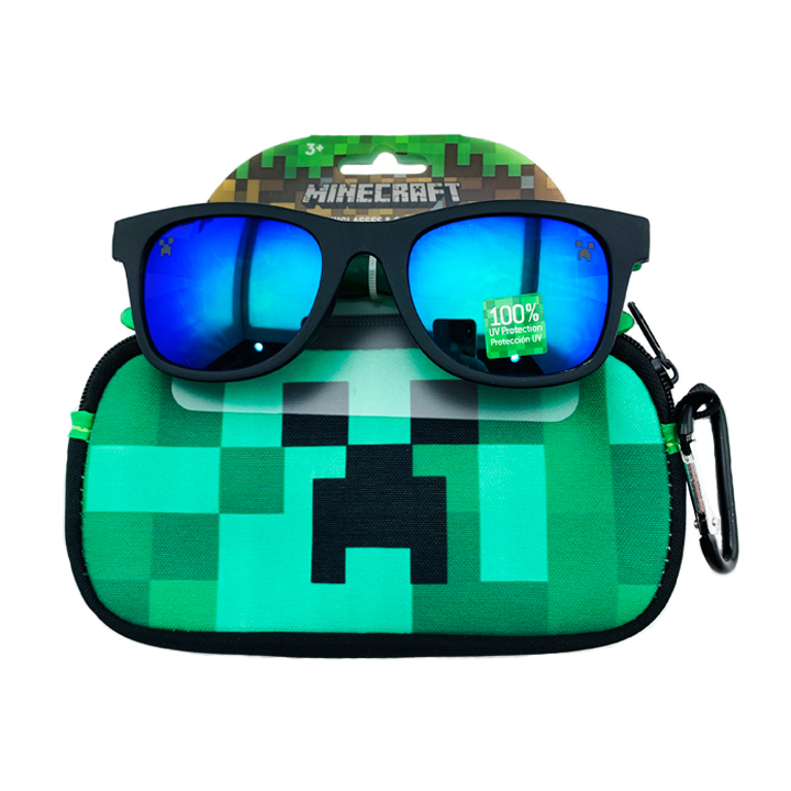 Kính mát Pan Oceanic Minecraft, Black/ Dark Green